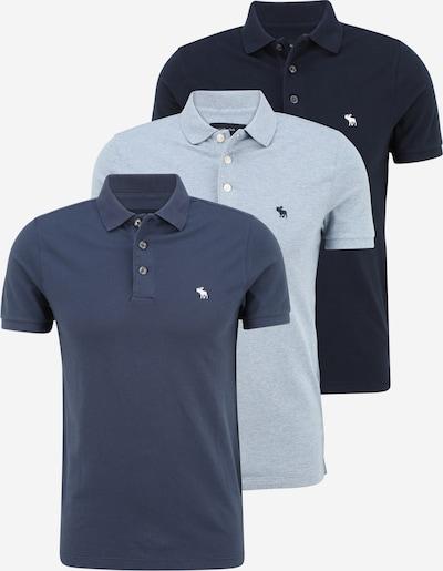 Abercrombie & Fitch T-shirt i blå / marinblå / ljusblå, Produktvy