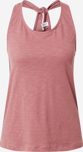 ONLY Top 'LUNA' in de kleur Oudroze, Productweergave