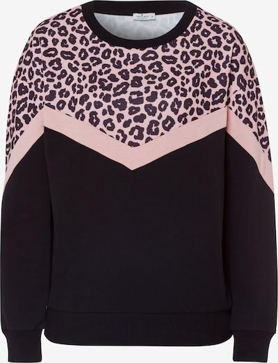 Cross Jeans Sweatshirt '65207' in pink / schwarz, Produktansicht