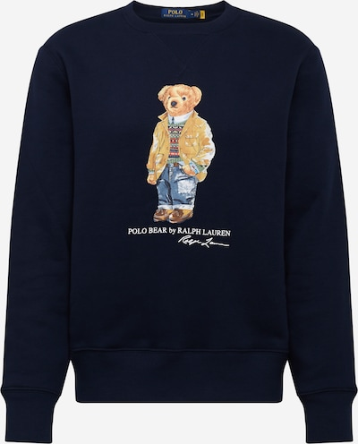 Felpa POLO RALPH LAUREN di colore navy / colori misti, Visualizzazione prodotti