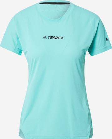 adidas Terrex Funktionsshirt in Grün