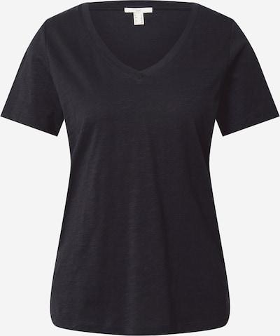 EDC BY ESPRIT Shirt in schwarzmeliert, Produktansicht