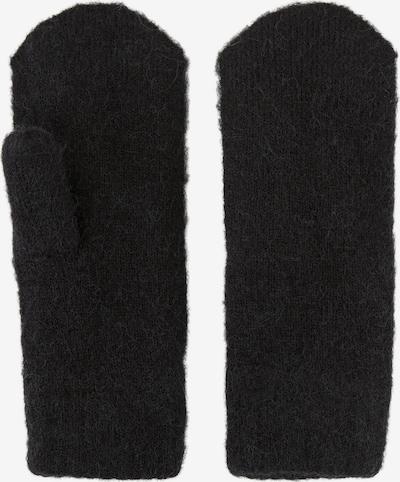 PIECES Fäustlinge 'Cindy' in schwarz, Produktansicht