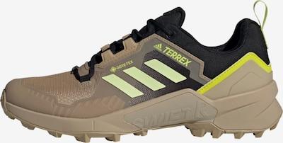 adidas Terrex Wanderschuh in hellbeige / neongelb / schwarz, Produktansicht