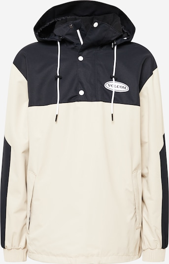 Volcom Outdoorjacka 'LONGO' i beige / svart, Produktvy