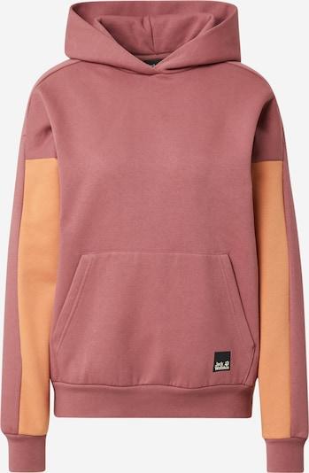 JACK WOLFSKIN Sweatshirt in Apricot / Pastel red, Item view
