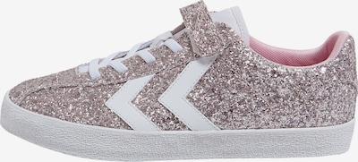 Hummel Sneaker 'Diamant Glitter' in silber / weiß, Produktansicht
