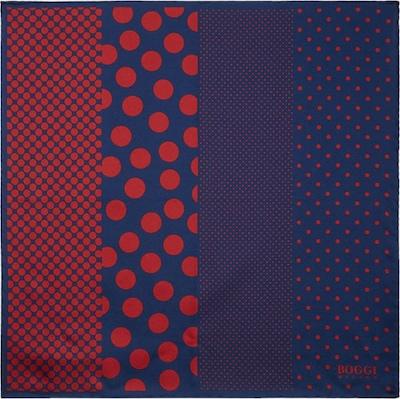 Boggi Milano Pochette en bleu marine / rouge sang, Vue avec produit