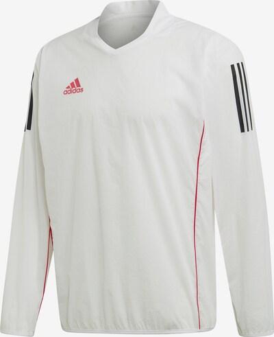 ADIDAS PERFORMANCE Sweatshirt in rot / schwarz / weiß, Produktansicht