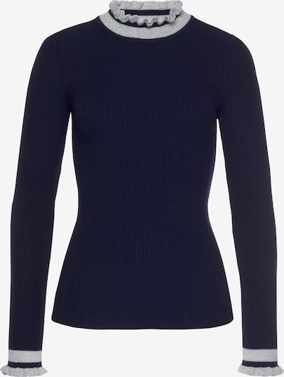 Tom Tailor Polo Team Sweater in Navy / Silver, Item view