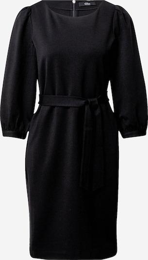 s.Oliver BLACK LABEL Obleka | črna barva, Prikaz izdelka
