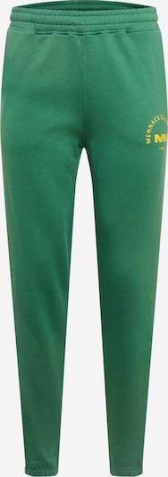 Mennace Hose in gelb / grasgrün, Produktansicht