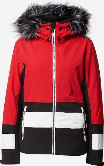 LUHTA Outdoorjas 'Luhta' in de kleur Rood / Zwart / Wit, Productweergave