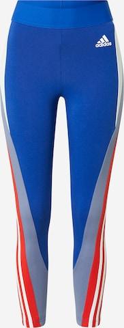 ADIDAS PERFORMANCE Sportbyxa i blå