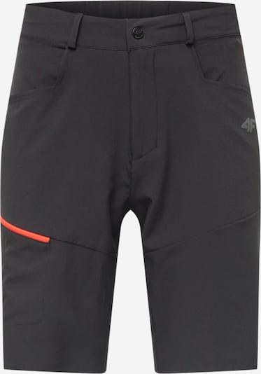 4F Pantalón de montaña en negro, Vista del producto