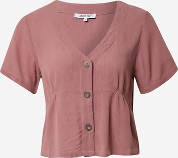 ABOUT YOU Shirt 'Jarina' in Pink