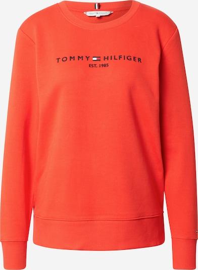 TOMMY HILFIGER Sweatshirt in nachtblau / orangerot / weiß, Produktansicht