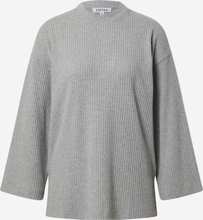 EDITED T-shirt 'Ilse' en gris chiné, Vue avec produit