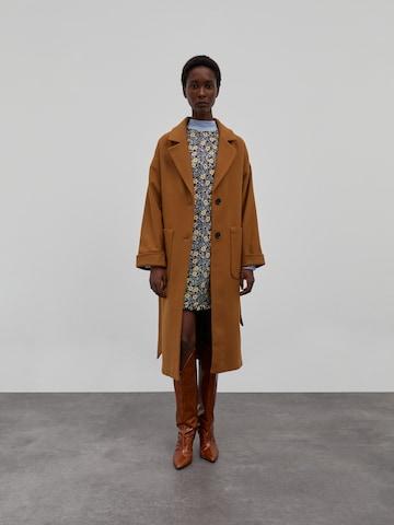 EDITED Winter Coat 'Santo' in Brown
