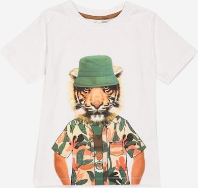 The New Тениска 'TROELS' в пъстро / бяло, Преглед на продукта