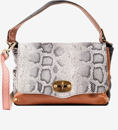 ebarrito Handtasche 'BOMBON SMALL BAG' in cognac / anthrazit / rosa / weiß, Produktansicht