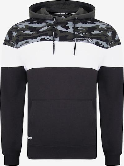 Threadbare Sweat-shirt en mélange de couleurs / noir, Vue avec produit