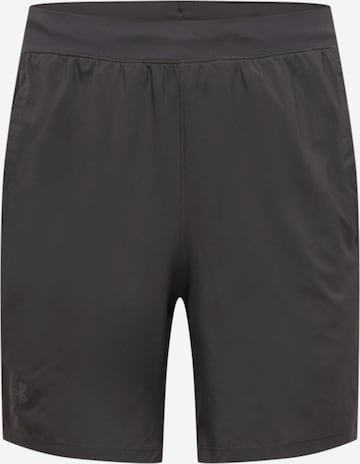 Pantalon de sport 'Launch' UNDER ARMOUR en noir