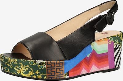 Högl Sandale in mischfarben / schwarz, Produktansicht