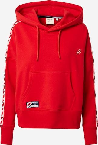 Superdry Sweatshirt in Red