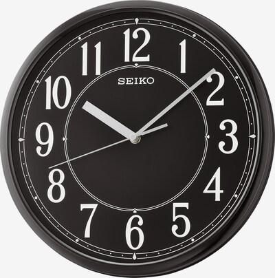 SEIKO Wanduhr in schwarz, Produktansicht
