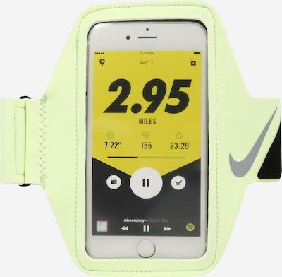 NIKE Accessoires Accessoire 'Lean Arm Band Plus' en gris fumé / kiwi / noir, Vue avec produit