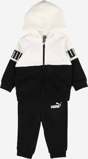PUMA Jogginganzug 'Minicats' in schwarz / weiß, Produktansicht