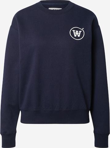 WOOD WOOD Sweatshirt 'Jess' in Blau