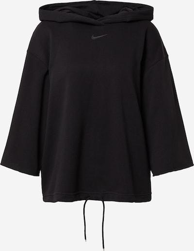 Nike Sportswear Mikina - čierna: Pohľad spredu