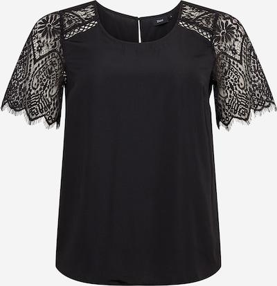 Zizzi Bluse in schwarz, Produktansicht