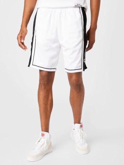 Pantaloni Mitchell & Ness pe negru / alb, Vizualizare model