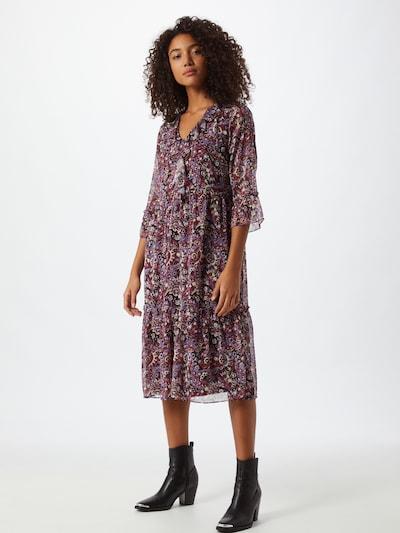 Trendyol Robe en mélange de couleurs, Vue avec modèle