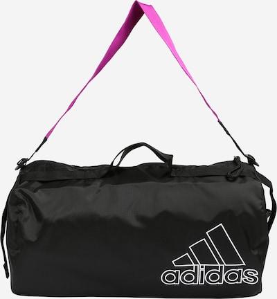 ADIDAS PERFORMANCE Sports Bag in Fuchsia / Black / White, Item view