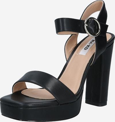 Sandale cu baretă NA-KD pe negru, Vizualizare produs