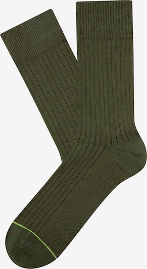 CHEERIO* Skarpety 'Rib Companion' w kolorze khakim, Podgląd produktu