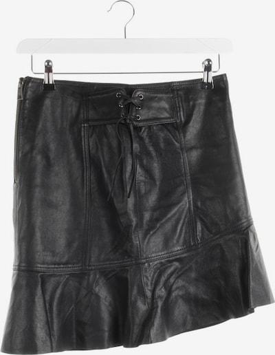 Just Cavalli Lederrock in S in schwarz, Produktansicht