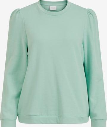 VILA Sweatshirt 'Rustie' in Green