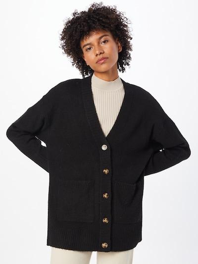 ABOUT YOU Kardigán 'Rita' - čierna, Model/-ka