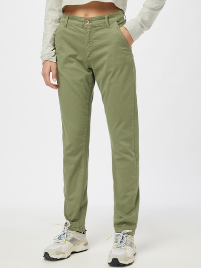 JDY Pantalon chino 'JDYDakota' en kaki, Vue avec modèle