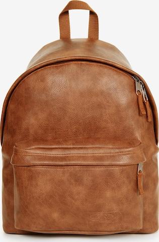 EASTPAK Backpack 'Padded Pak'r' in Braun