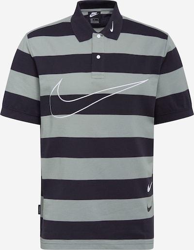 Nike Sportswear Koszulka 'Swoosh' w kolorze szary / czarnym, Podgląd produktu