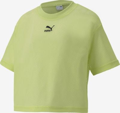 PUMA T-Shirt in hellgrün, Produktansicht