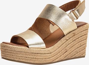 Sandales INUOVO en or