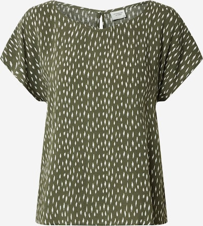 JDY Bluzka 'JDYSTAAR' w kolorze khaki / białym, Podgląd produktu