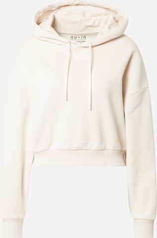 NU-IN Sweatshirt i beige